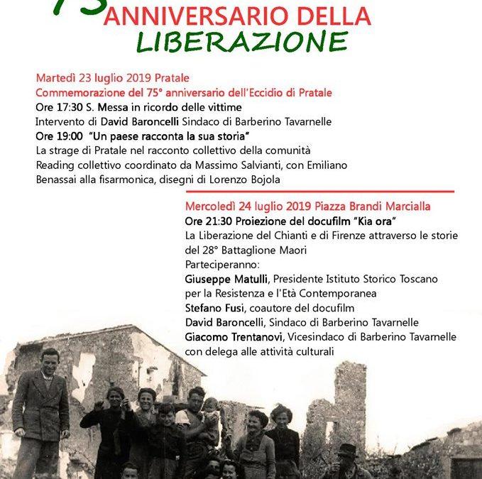 75° Anniversario della Liberazione del Comune di Barberino Tavarnelle