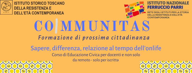 CoImmunitas – Sapere, differenza, relazione. Un nuovo corso di Educazione Civica