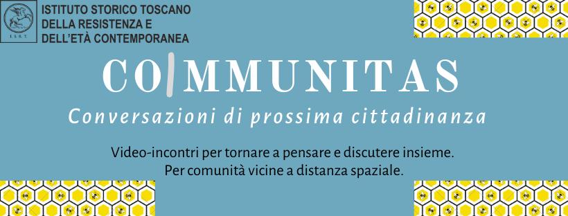 CoImmunitas – Conversazioni di prossima cittadinanza