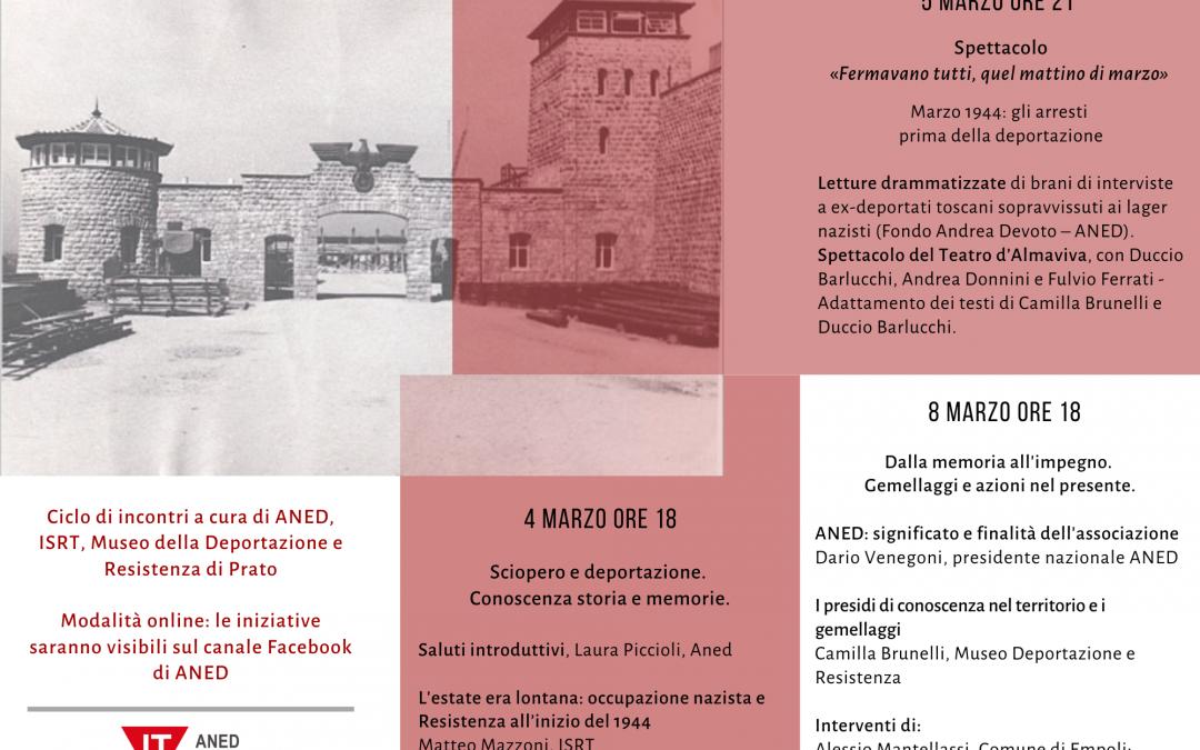 Deportazione politica: una pagina della nostra Storia Firenze, Prato, Empoli