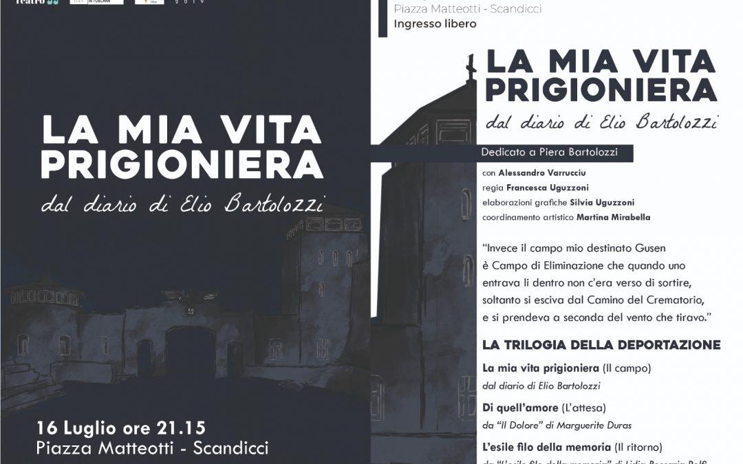 """Uno spettacolo per ricordare la """"vita prigioniera"""" di Elio Bartolozzi."""
