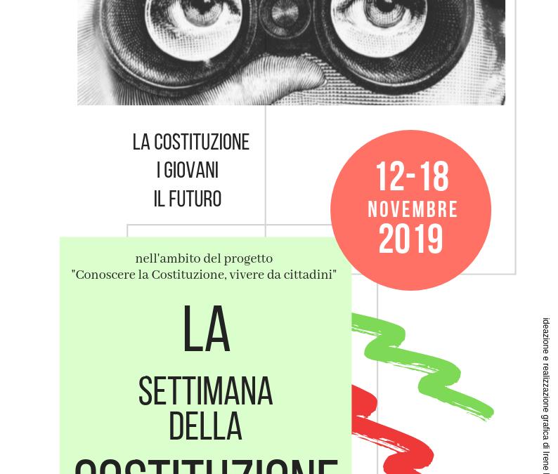 """A Firenze """"La Settimana della Costituzione"""" 12-18 novembre 2019"""