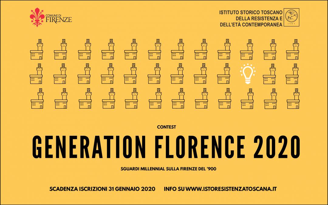 """Contest """"Generation Florence 2020: il passato raccontato dal futuro"""" Sguardi Millennial sulla Firenze del '900"""